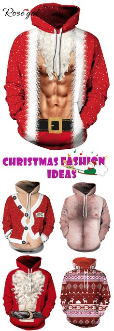Rosegal ugly christmas outfits christmas hoodies and sweatshirts for men. All Things Christmas, Holiday Fun, Christmas Holidays, Christmas Crafts, Christmas Decorations, Holiday Style, Christmas Ideas, Holiday Fashion, Holiday Outfits