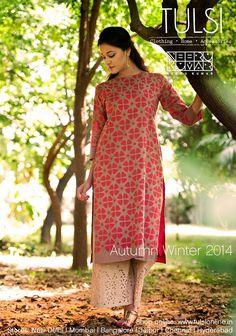 #autumnwinter #womensfashion #kurta #palazzo #onlineshopping #tulsionline