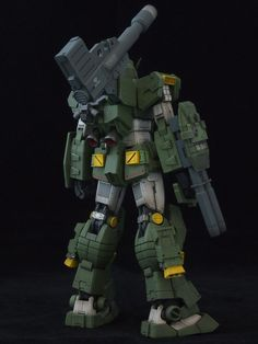 RX-78-2 Gundam in RX-78-1 Full Armor: Improved
