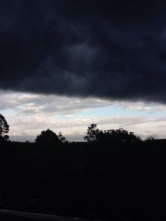 HUGE dark cloud covering so much :0