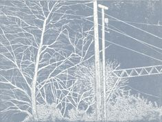 Overhead by Andrew Gunnell - etching