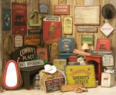 western home cowboy brand furniture antiqued western signs furniture - Cowboy Decor
