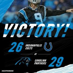 VICTORY | Your Carolina Panthers are 7-0! | INDvsCAR