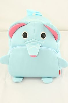 Toddler elephant backpack by MakaiBoutique on Etsy, $17.00