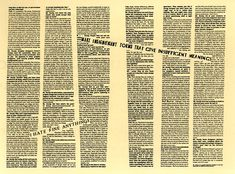 Emigre Magazine: interview with Ed Fella. Incredible typography.