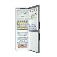 Refrigerateur congelateur en bas Haier C2FE632CSJ SILVER pas cher prix promo Réfrigérateur Darty 439.00 € TTC au lieu de 529 €
