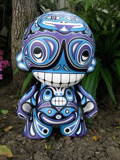 Reactor-88 Totem Mega Munny by reactor88, via Flickr✖️More Pins Like This One At FOSTERGINGER @ Pinterest✖️