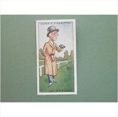 CAPT R F K GOOCH SINGLE CIGARETTE CARD NO 23 OGDEN'S 1929 Tilleys of Sheffield