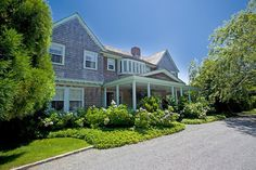 Classic Façade - The Infamous Grey Gardens Estate Is On The Market - Photos