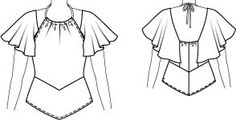 Yule ball sleeves --> pattern for cosplay Halter Maxi Dresses, Ball Dresses, Prom Dresses, Hermione Dress, Dress Patterns, Sewing Patterns, Yule Ball, Summer Blouses, Top Pattern
