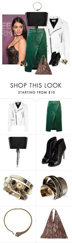 """joanna eyre"" by jenbecca9693 ❤ liked on Polyvore featuring Yves Saint Laurent, Roseanna, The Row, Topshop, Tory Burch, Vionnet and MM6 Maison Margiela"