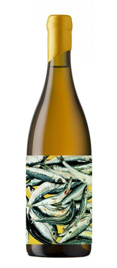 Well you don't need to think too hard about food paining with this wine.  Frederick Stevenson #wine #packaging
