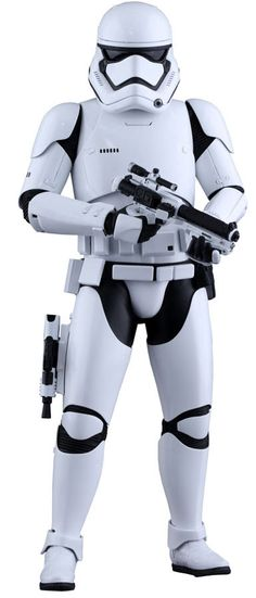 Star Wars Episode VII: The Force Awakens - First Order Stormtrooper Scale Hot Toys Action Figure Thirty years after the Battle of Endor. Film Star Wars, Star Wars Episoden, Star Wars Toys, Star Wars Helmet, Stargate, Coleccionables Sideshow, Stormtroopers, Imperial Stormtrooper, Superman