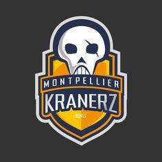 MTP kranerz (by #krane) #crane #skull #illustration #design #montpellier #mtp #vector #logo #nfl #nba #diversion Crane, Skull Illustration, Montpellier, Logo Nasa, Fallout Vault, Nba, Bones, Sugar, Fictional Characters