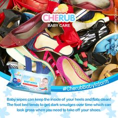 """""""Cherub Baby Wipes ✨ great for footwear too! Cherub Baby, Take Off Your Shoes, Baby Care, Smudging, Footwear, Twitter, Shoe, Shoes, Zapatos"""