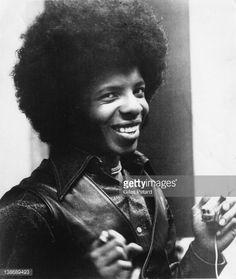 Sly Stone of Sly and the Family Stone, portrait, USA, 1973.