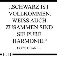 Zitat von Coco Chanel. Die passende Handtasche zu ihrem Outfit finden sie hier: https://www.profibag.de/sport-und-freizeit/handtaschen/