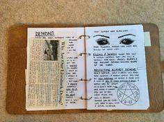 John Winchester diary ~ Demons