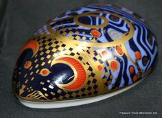 Royal Crown Derby Computer Mouse Paperweight
