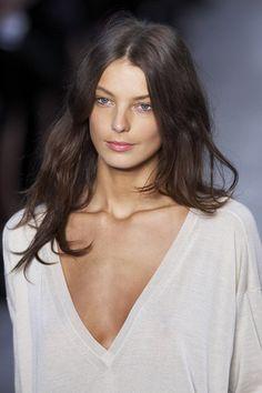 Daria Werbowy, hair