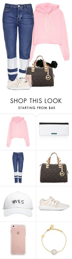 """""""DRAKE concert #VIEWS"""" by foziya-101 ❤ liked on Polyvore featuring BCBGMAXAZRIA, Topshop, Michael Kors, October's Very Own, adidas Originals, Marc Jacobs and Nila Anthony"""