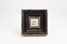 Moldura Croco Preto 6 x 6 cm | A Loja do Gato Preto | #alojadogatopreto | #shoponline | referência 124066442