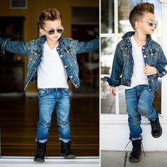 Você pode até ter bom gosto para roupas e andar bem vestido na maior parte do tempo, mas dificilmente ficará tão bem quanto essas crianças.
