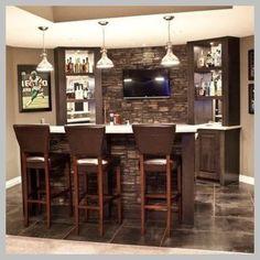 [ Home Bar ] Choosing a Suitable Design For Your Home Bar -- For more information, visit image link. #HomeBar