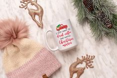 I just want to drink coffee and watch Christmas movies Mug, Funny Christmas Mug, Christmas Mug by SweetSipsShop on Etsy