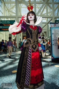 Queen of Hearts Cosplay | Anime Expo 2016