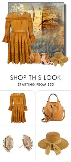 """""""Untitled #813"""" by whiteflower7 ❤ liked on Polyvore featuring Cinq à Sept, Merona, Kendra Scott, Scala and Chloé"""
