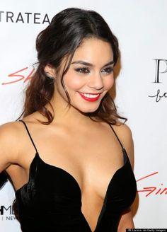 De legging e camisa, a atriz Vanessa tentou se esconder dos paparazzos