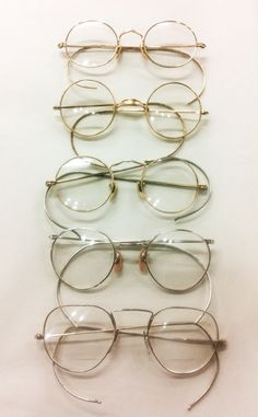 3865ac26eeda Antique wire rimmed eyeglasses w coil cable temples. gold filled by American  Optical and other not so well known companies. Please inquire for  availability ...