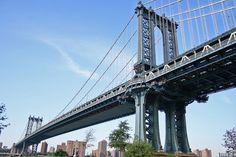 """#  MANHATTAN  #                         """"Ponte de Manhattan"""".                               New York City, USA."""
