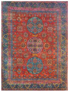 Size: x Construction: Hand Knotted. Collection: MG. Textures Patterns, Color Patterns, Modern Tapestries, Sari Silk, Floor Design, Modern Rugs, Persian, Bohemian Rug, Tapestry