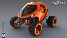 Skarab - Mars Rover - Front by Secap on DeviantArt Concept Ships, Concept Cars, Microcar, Cartoon Crossovers, Smart Car, Futuristic Cars, Unique Cars, Military Equipment, Mini Bike