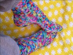 Hva med å sy dine egne sokker?