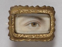 Philadelphia Museum of Art - Collections Object : Portrait of a Right Eye Made in England,  c. 1800-1810