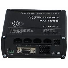 4G Router, perfect for høj båndbredde på farten. Understøtter 2 stk Mobil interbet SIM kort/Radioer, plus wifi og erthernet.