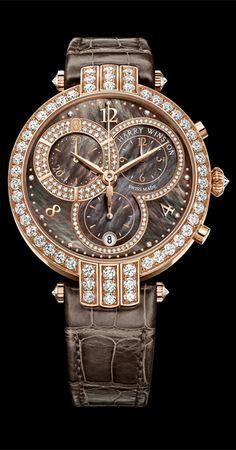 Harry Winston Premier Lady Chronograph, Baselworld 2014