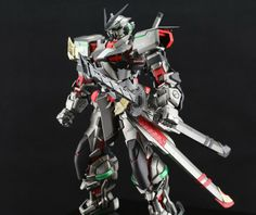PG Gundam Astray Red Frame - Painted Build Modeled by yipfeng Astray Red Frame, Battle Robots, Gundam Astray, Gundam Mobile Suit, Unicorn Gundam, Medieval Armor, Gundam Model, S Mo, Paint Schemes