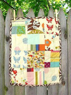 simple modern quilt