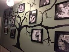 Family Tree Photo Wall 170+ family photo wall gallery ideas | tree wall, beautiful family