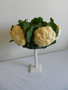 Raymond Hudd hat of cauliflower