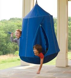 Cacoon Hanging Tent Gives A Birds Eye View Of Nature  sc 1 st  Pinterest & Crash Mat | Special needs Places and Children