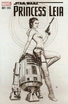 Star Wars: Princess Leia - No. Star Wars Rebels, Star Wars Mädchen, Leia Star Wars, Star Wars Comics, Star Wars Girls, Bd Comics, Comic Book Covers, Comic Books Art, Rebellen Tattoo