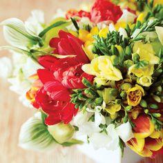 How to Make Floral Arrangements - Sunset