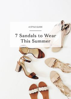 Let your toes see the light with the season's hottest shoes. Nothing says summer like sandals, and eBay has seven options perfect for wearing this summer. Goodbye boots, hello espadrilles!