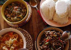 Zambian Food: nshima & kapenta