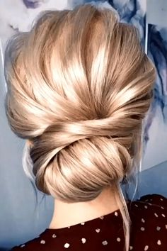 Updo Hairstyles Tutorials, Up Hairstyles, Wedding Hairstyles, Wedding Updo, Prom Updo, Diy Wedding, Cute Hairstyles For Medium Hair, Hair Up Styles, Hair Videos